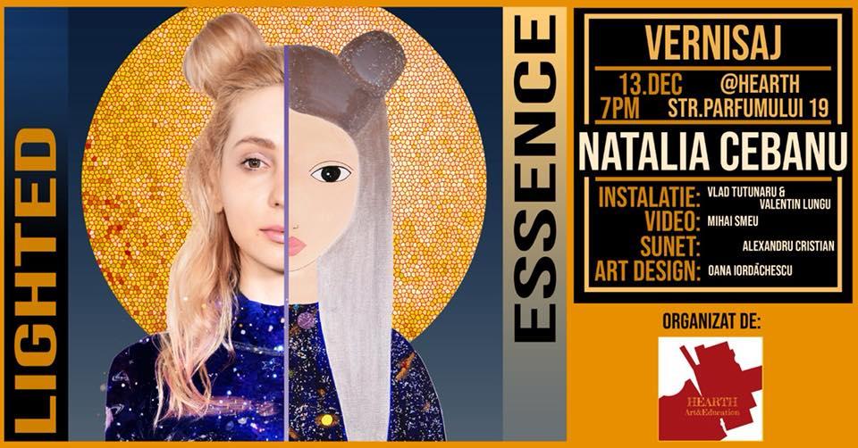 Natalia Cebanu afis lighted essence