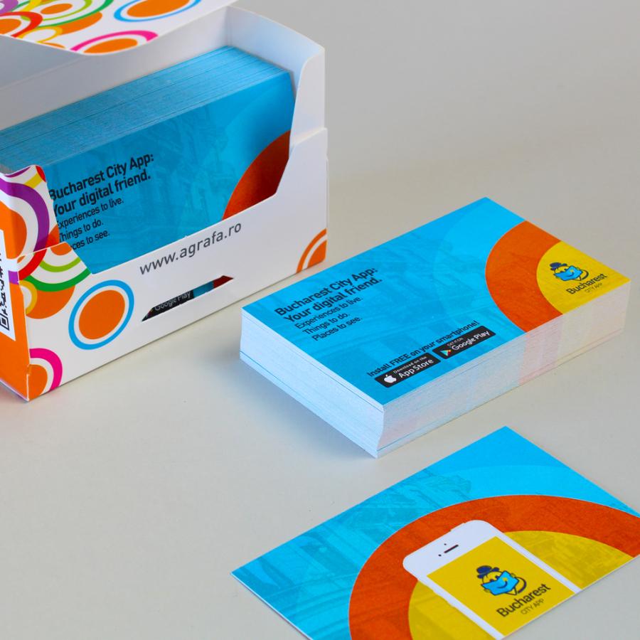 carti de vizita in Bucuresti